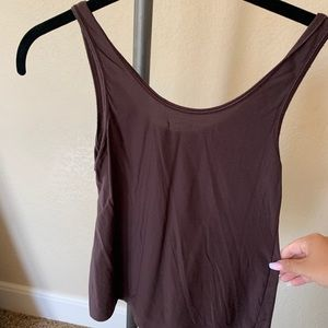 Soma Chocolate Brown Camisole shirt Size Small